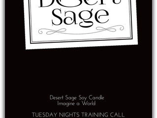 Desert Sage Soy Candle Tuesday Night Training Call For Consultants