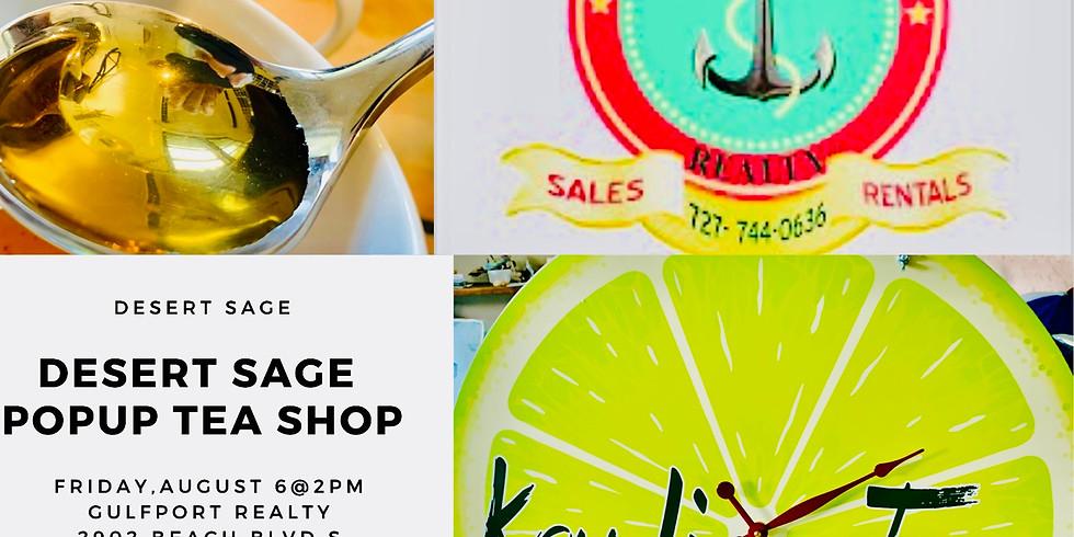 Desert Sage Tea Event Gulfport Florida