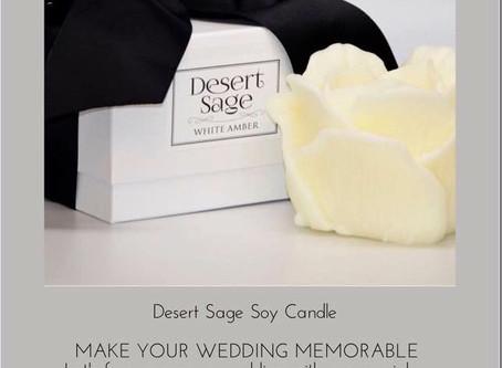 Make Your Wedding or Bridal ShowerSpecial With Desert Sage .