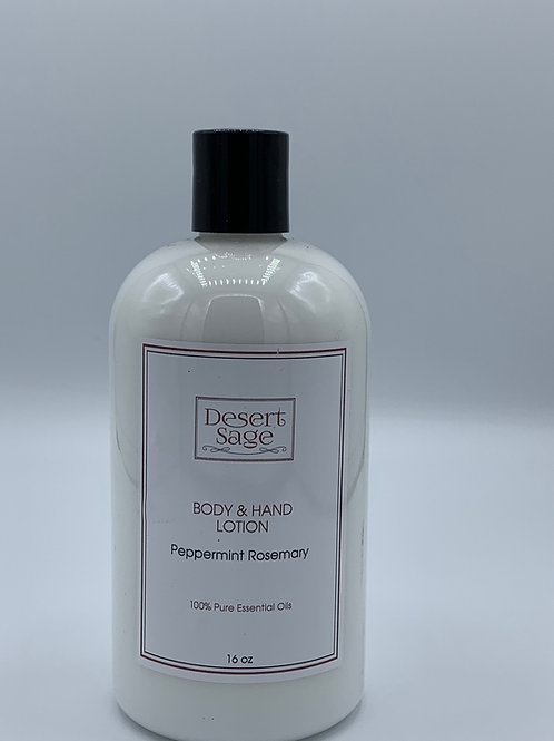 Peppermint Rosemary Body and Hand Lotion