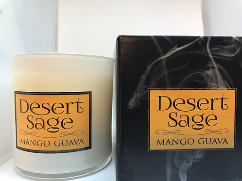 Desert Sage Mango Guava  100 % Natural Soy Candle