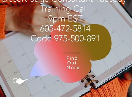 AFFILIATE TRAINING CALL