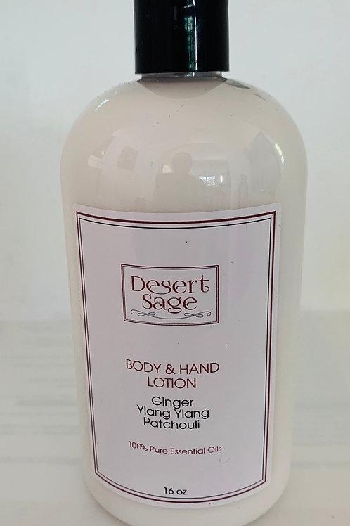 Ylang Ylang and Ginger Body and Hand Lotion