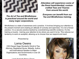 COCONUT GROVE CHAMBER OF COMMERCE TEA AND MINDFULNESS