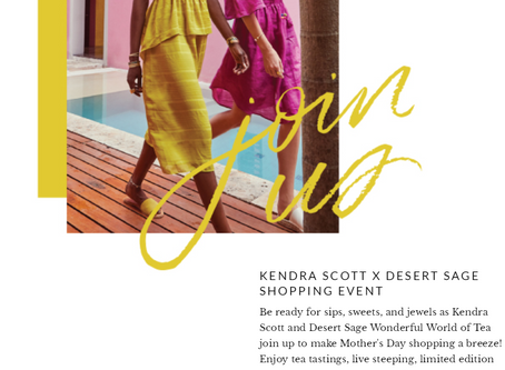 FOR MOTHERS DAY AT KENDRA SCOTT