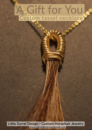 Gift Certificate - Tassel Necklace