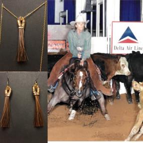 """Bet Yer Blue Boons""  aka ""Bet"", NCHA Open World Champion - Lindy Burch Cutting Horses,"