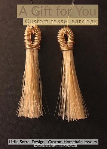 Gift Certificate - Tassel Earrings