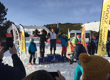 U12 - U14 Critérium National Jeunes - Skicross - Font-Romeu Pyrénées 2000