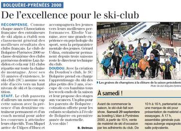 Le Club dans la presse
