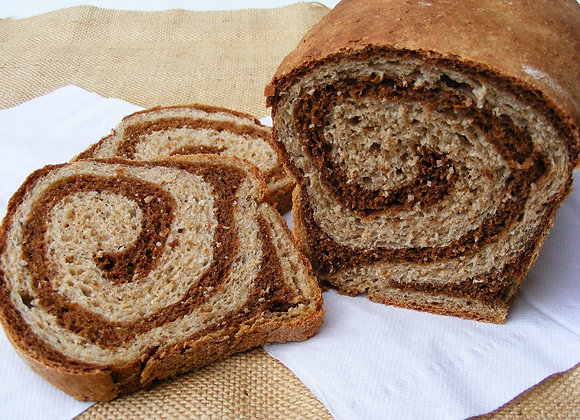 Wheat Marble Rye Bread Honey and Grains Bakery Springville Utah