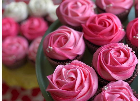 Valentines Day Red Velvet Cream Cheese Cupcakes - Honey and Grains Bakery - Springville, UT