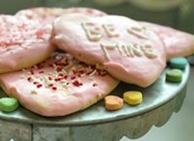 Valentines Day Heart Shaped Cookies for your Sweetheart - Honey and Grains Bakery - Springville, UT