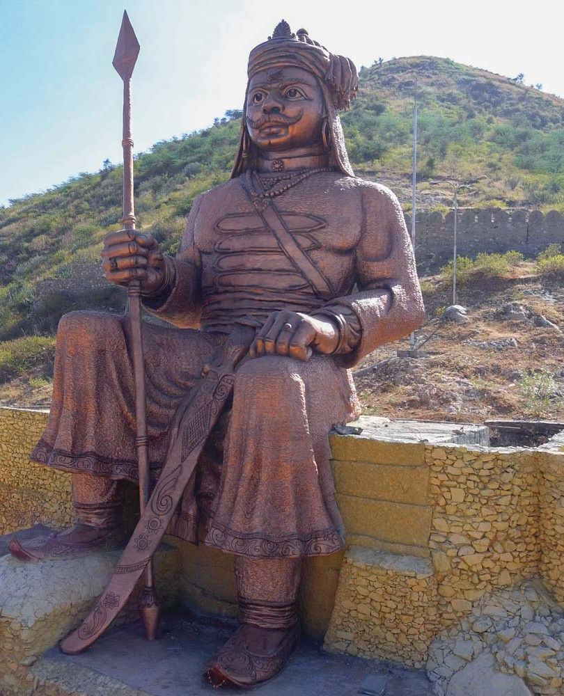 57 ft Statue at Pratap Gaurav Kendra