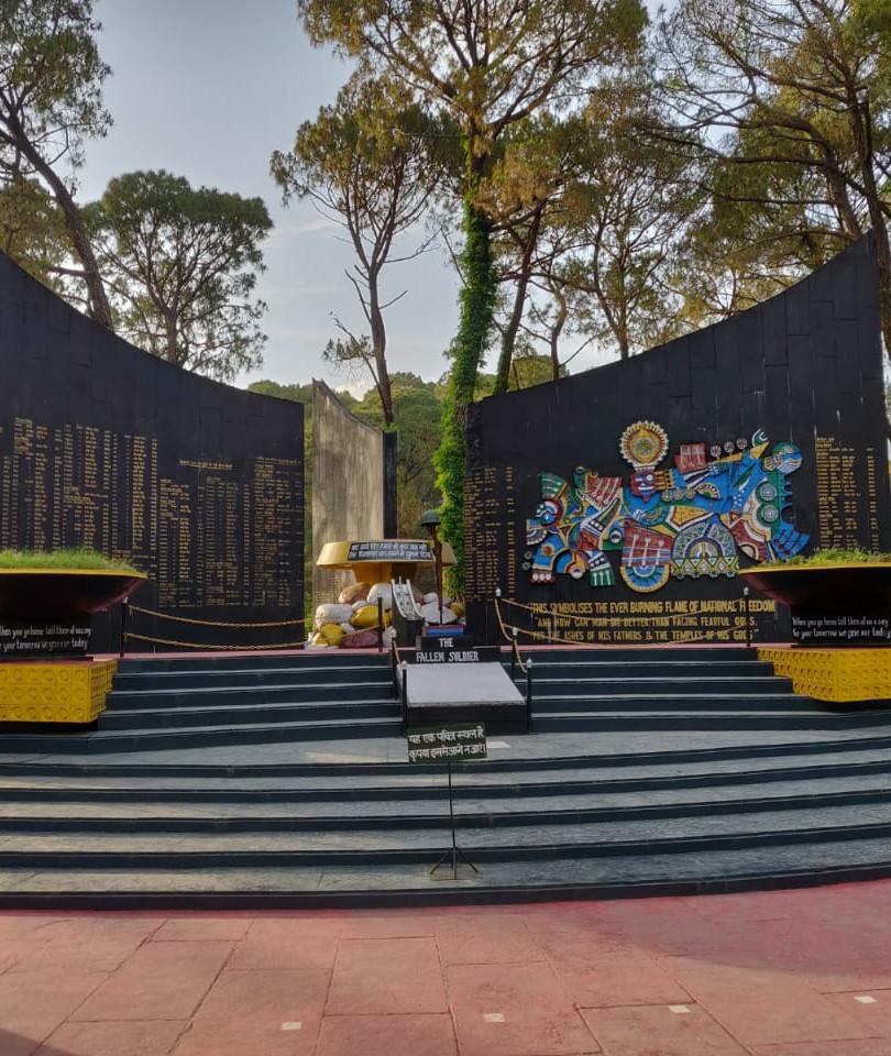 War Memorial at Dharamshala