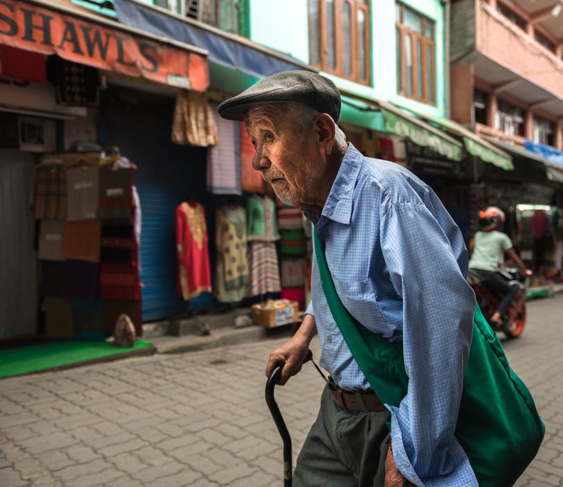 Tibetan Market at Mcleodganj