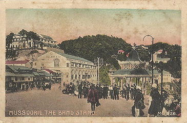 Mussoorie-The-Band-Stand-vintage-image.j