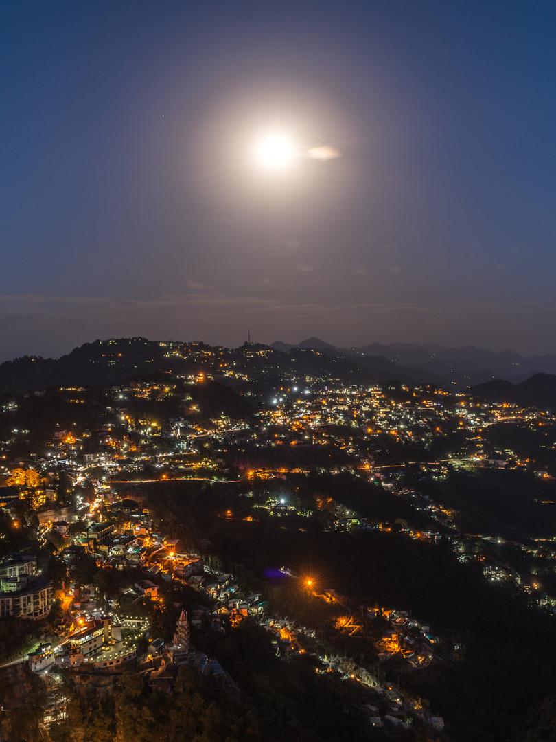 Mussoorie Night View