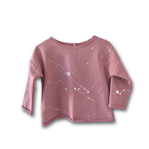 SWEATSHIRT ROSEWOOD SPLASH