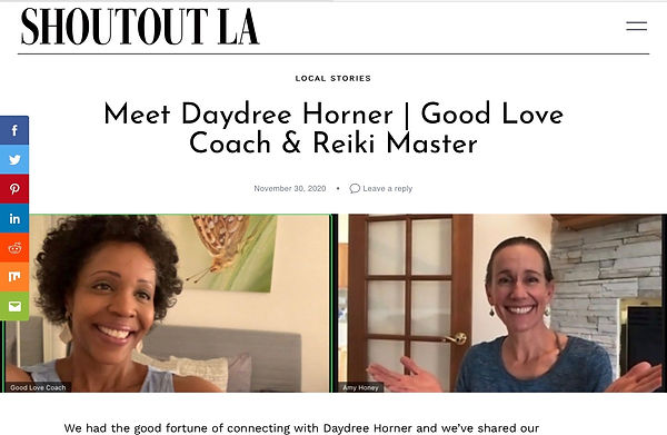 Meet Daydree Horner  Good Love Coach & R