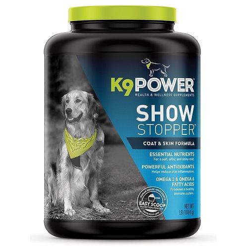 K9 Power - ShowStopper™ - Хранителна добавка за кожа и козина - 1,8 кг.