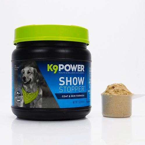 K9 Power - ShowStopper™ - Хранителна добавка за кожа и козина - насипно