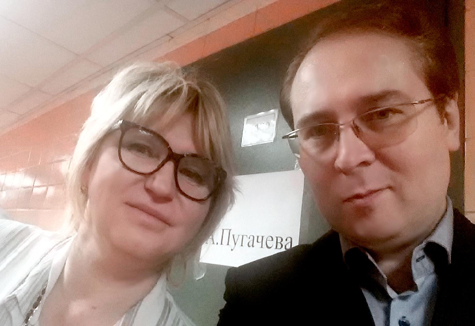 С Еленой Чупраковой