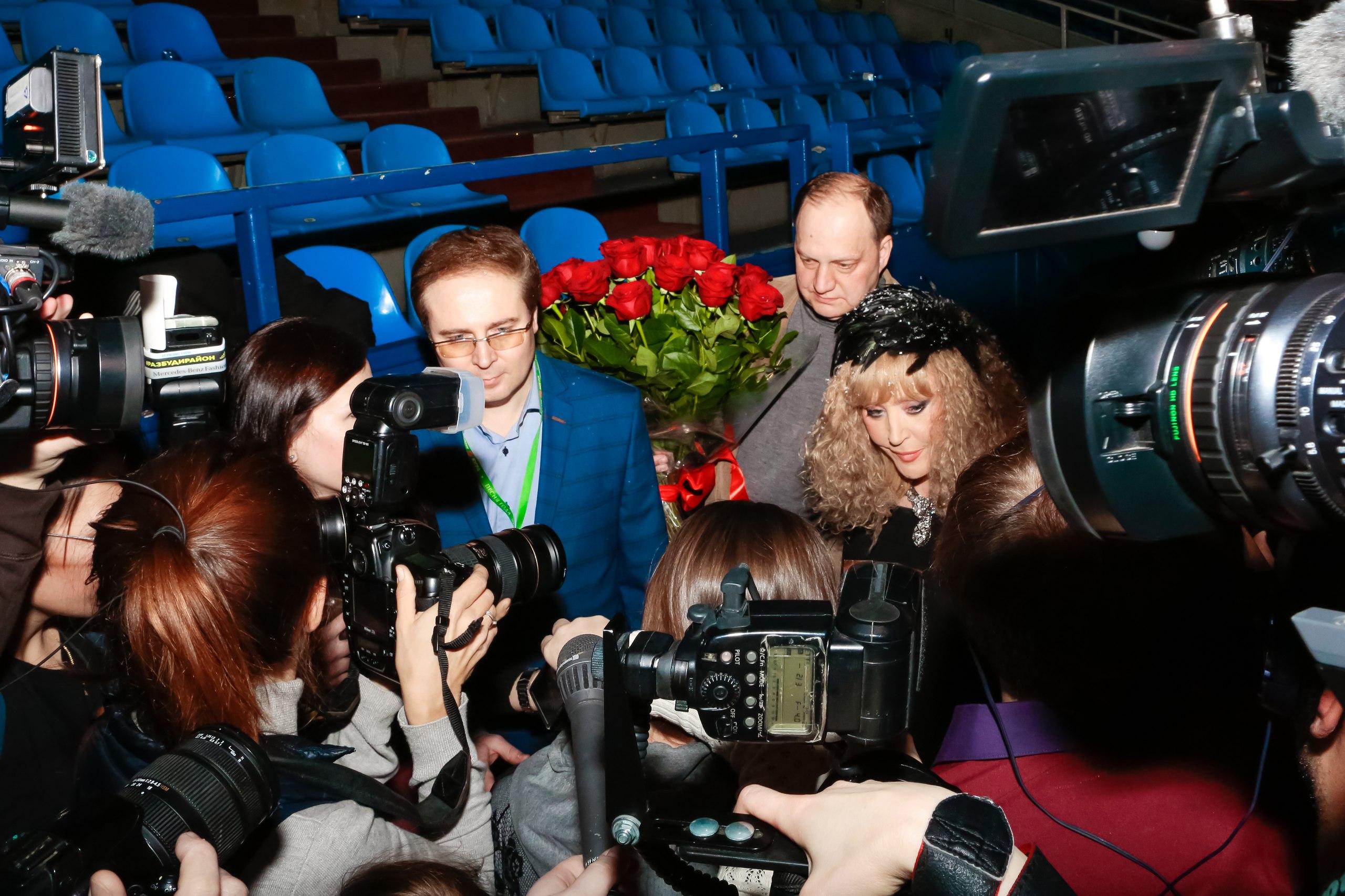 С Аллой Пугачевой