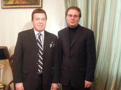 С Иосифом Кобзоном