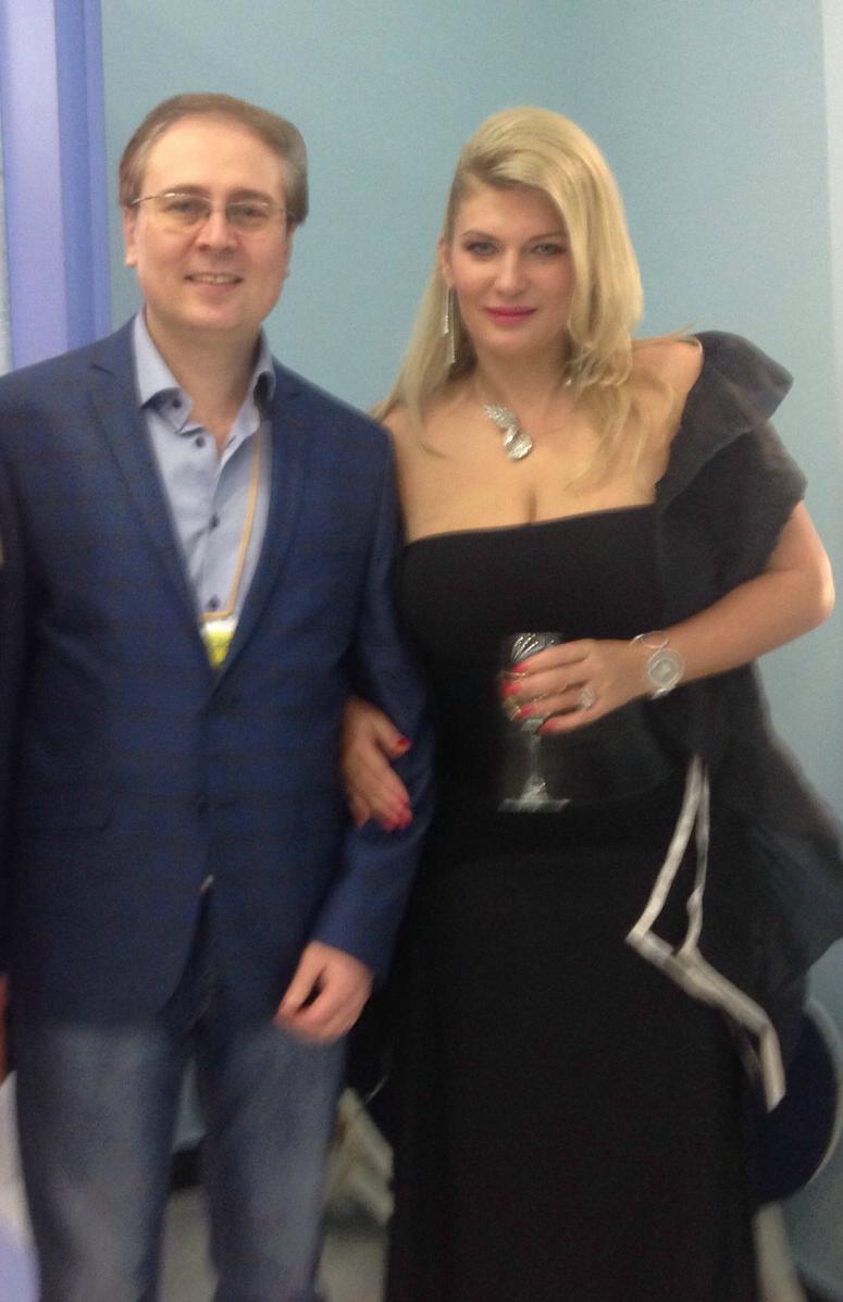 С Евой Сойреф
