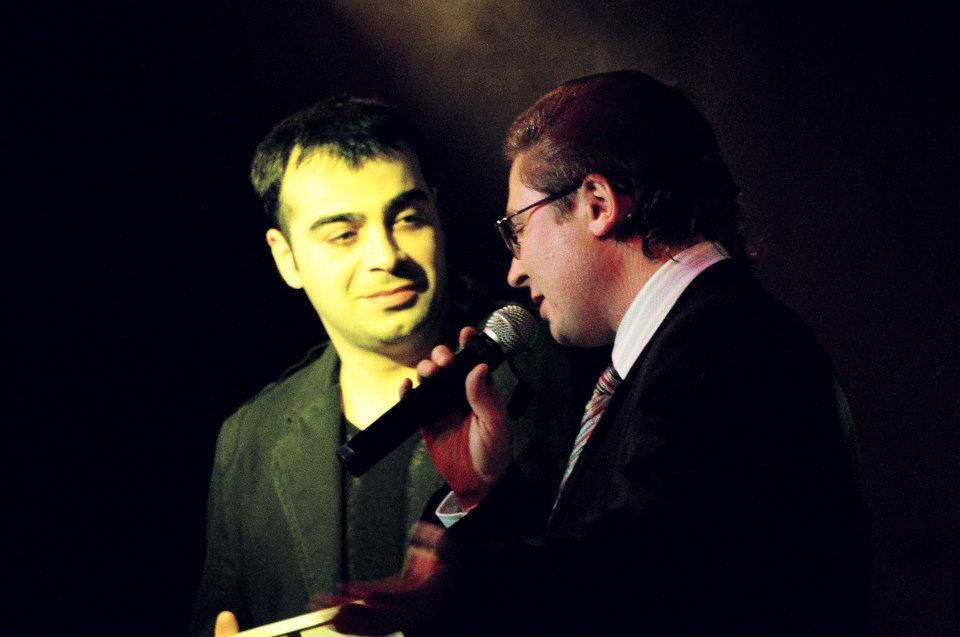 С певцом Дато Худжадзе