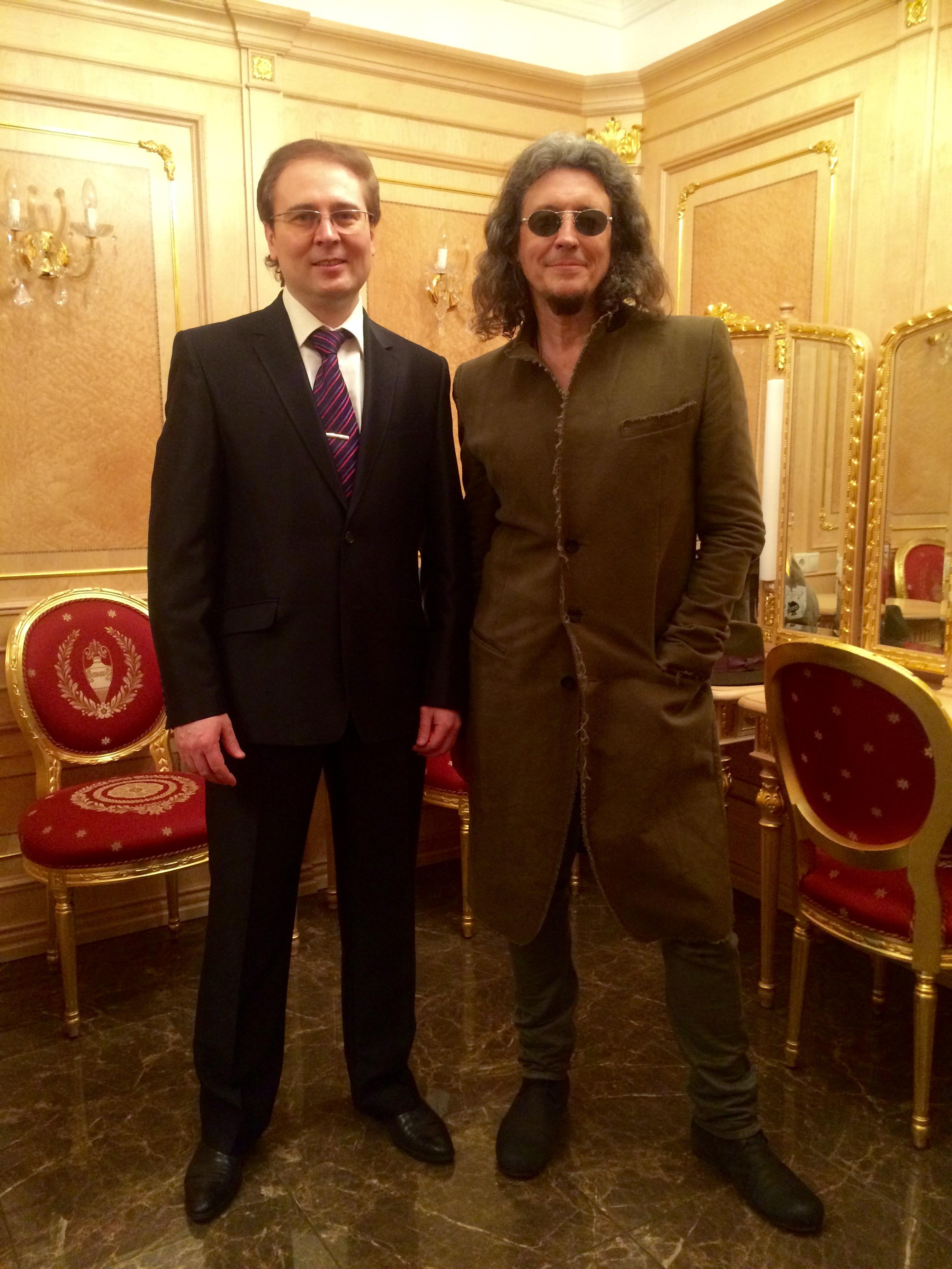 С Сергеем Галаниным