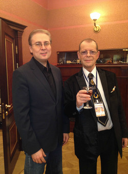 С Аркадием Аркановым