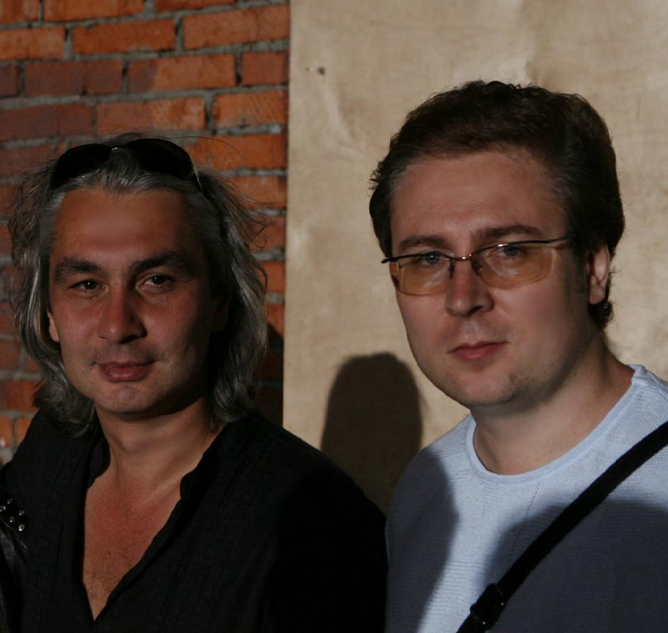 С продюсером  Олегом Шмелевым