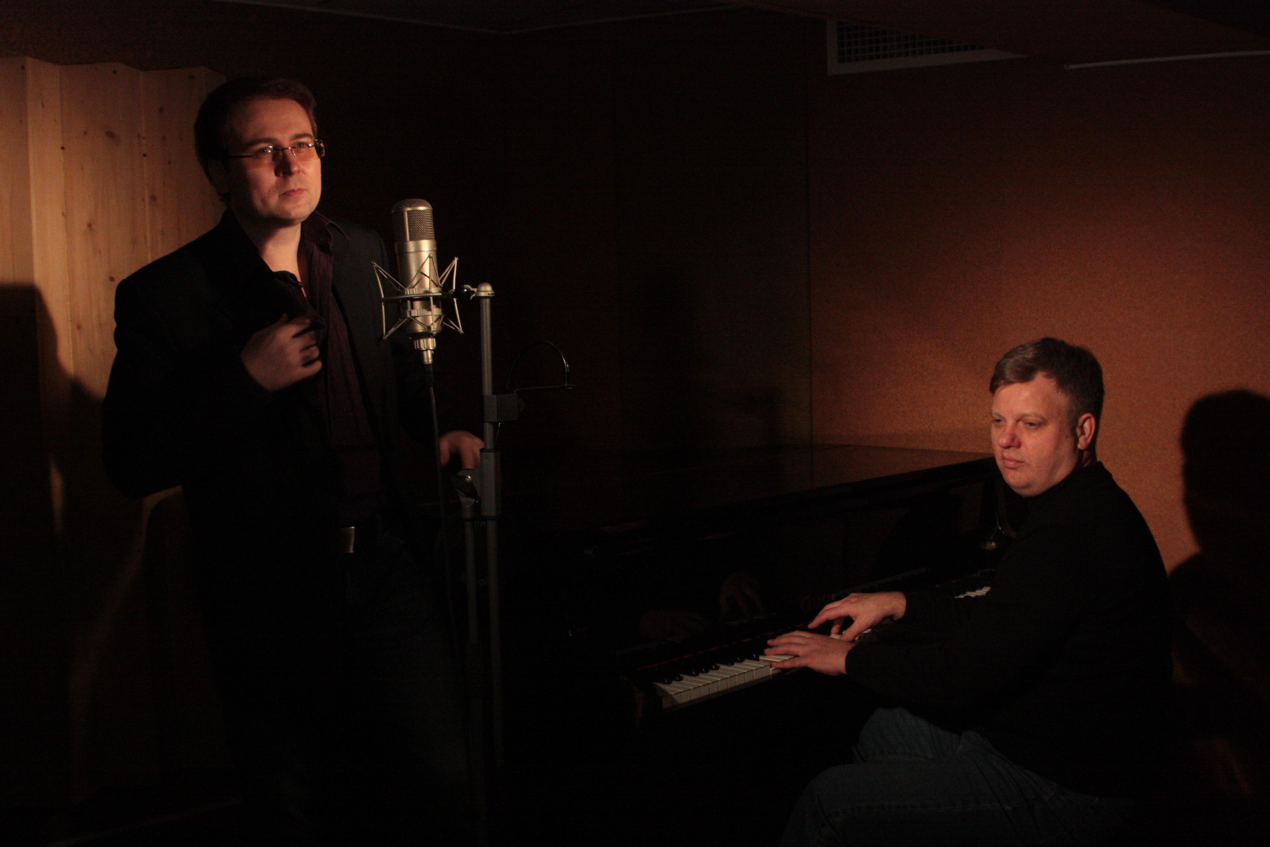 С композитором Андреем Ктитаревым