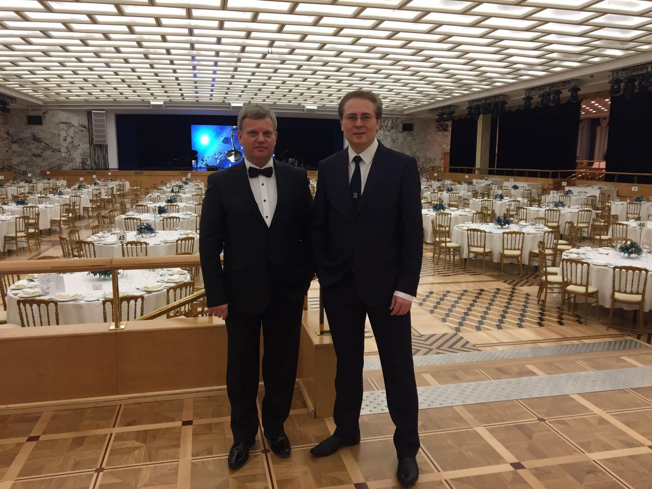С Андреем Ктитаревым