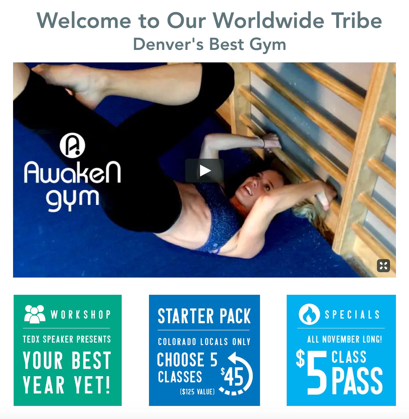 Awaken Bodyweight Fitness in Denver