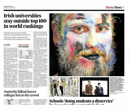 The Irish Times view on the creative sector: art for art's sake