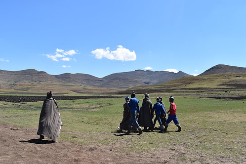 Support the Village of Lesotho