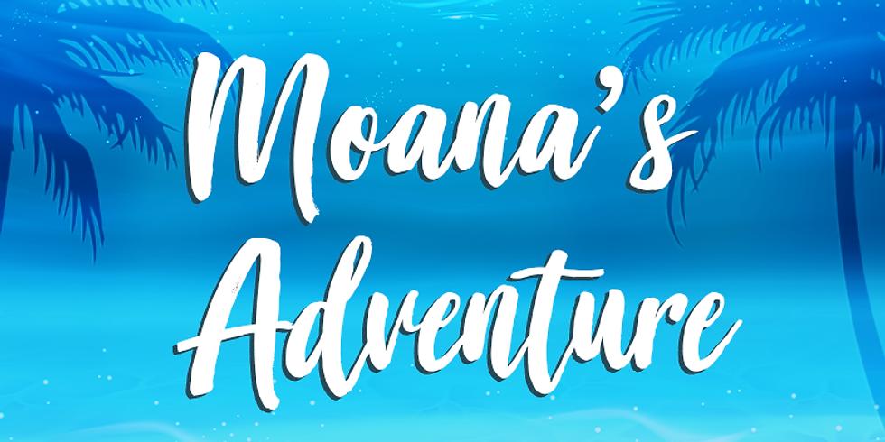 Princess Winter Camp: Moana's Adventure