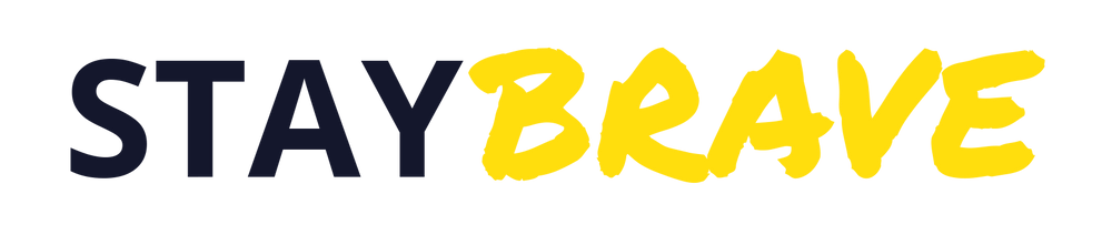 Stay Brave Logo
