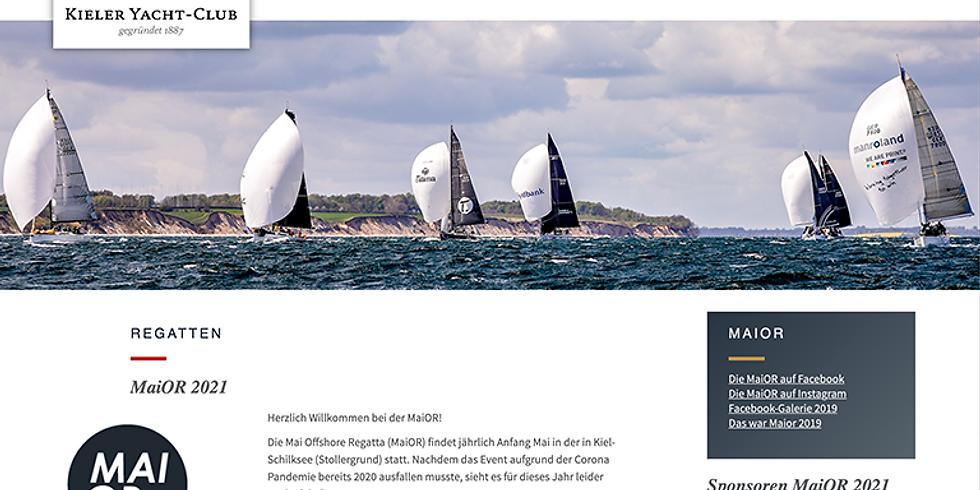 MaiOR Mai Offshore Regatta 2021 abgesagt