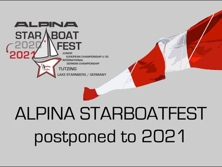 ALPINA Starboatfest postponed to 2021
