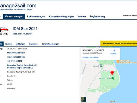 Anmeldung/Registration offen/open