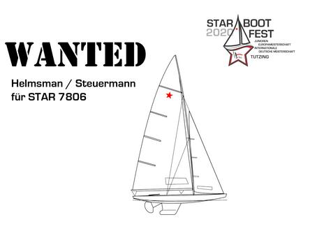 Steuermann für Star 7806 gesucht