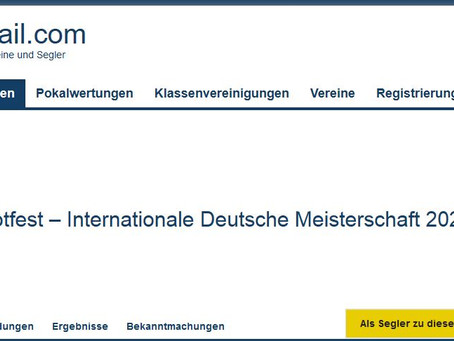 DTYC STARBOOTFEST               Meldung offen/Registration open