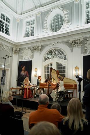 Ensemble Una Corda, 10 February 2019, Kadrioru Kunstimuuseum, Kadriorg Palace  photo: Mart Raun