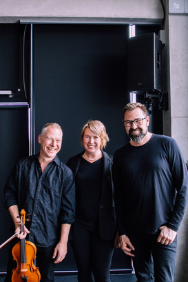 Age Veeroos with There Are No More Four Seasons - George Kentros, Mattias Petersson (Sweden), 4 May 2019, Estonian Academy of Arts, Estonian Music Days & ISCM World Music Days Festival 2019 Tallinn   photo: Karin-Liis Tambaum