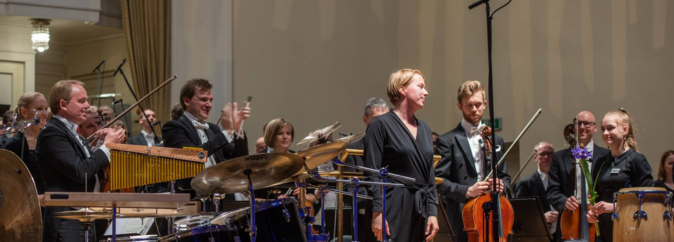 Age Veeroos with ERSO - Estonian Music Days Festival 2018, by Rene Jakobson