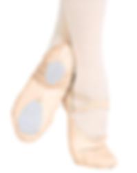 split sole ballet shoe fourth through tw